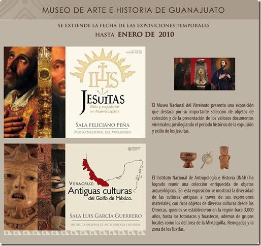 Exposiciones Temporales: Enero 2010