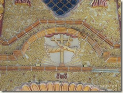 Escudo Franciscano en Jalpan
