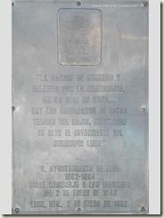 Placa dedicada a los Martires del 2 de Enero