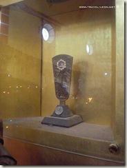 Reliquias de Fray Junípero Serra en Tilaco