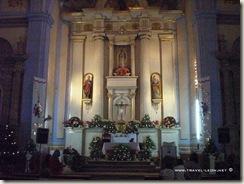 Altar de la Misión de Jalpan