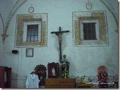 Interior de la Sacristía de la Misión de Jalpan