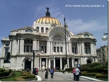 Palacio de Bellas Artes en el DF