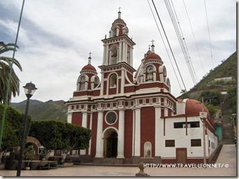 Iglesia de Xichu en la Sierra Gorda