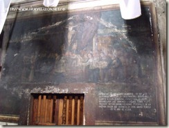 Representacion de la llegada de la imagen al Llanito
