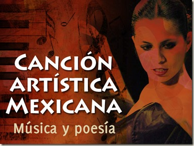 Canción Artística Mexicana