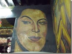 Mural María Félix en la Cantina el Incendio