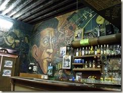 Mural de Agustín Lara en la Cantina el Incendio