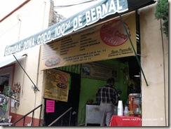 """Gorditas """"Doña Coco"""" en Bernal, Querétaro"""