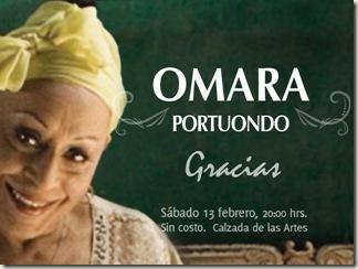 Omara Portundo en el Fórum Cultural Guanajuato