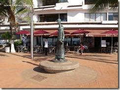 Esculturas en  el Malecòn de Puerto Vallarta