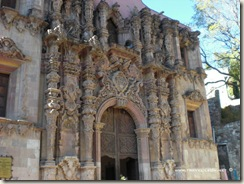 Templo de Mineral de Cata en Guanajuato