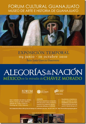 Alegorías de una Nacion en el Fórum Cultural Guanajuato