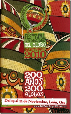 Festival del Globo 2010 en León, Guanajuato