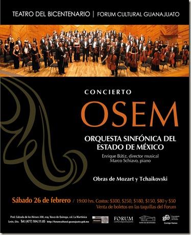 Fórum Cultural Guanajuato: Concierto OSEM