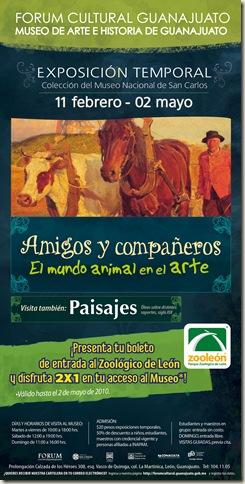 Museo al 2x1 con tu boleto del Zoológico de León