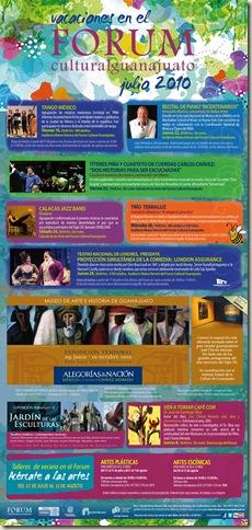 Fórum Guanajuato: Cartelera Julio 2010