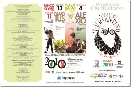Programa de Octubre en Irapuato 2010