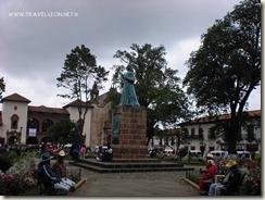 Monumento a Gertrudis Bocanegra en Pátzcuaro
