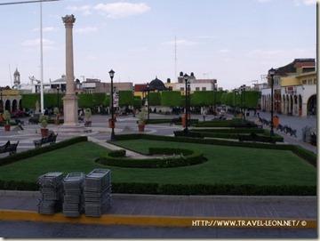 Jardin Principal de Ciudad Manuel Doblado