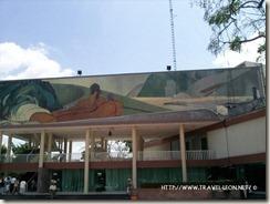 Mural en Palacio Municipal de Poza Rica, Veracruz