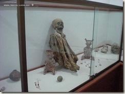 Momia en el Museo de las Animas en La Chona