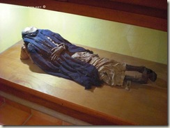 Momia en el Mus