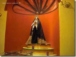 Virgen de la Soledad en el Museo de las Momias