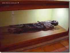 Cristero en el Museo de las Animas en La Chona