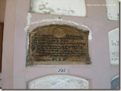 Criptas en el Panteón de La Chona