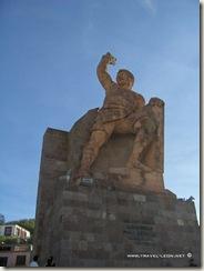 Monumento al Pipila en Guanajuato