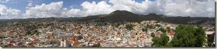 Panoramica del centro de Guanajuato