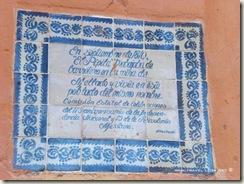 Placa Conmemorativa del 175 Aniversario de la Independencia