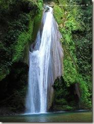 Cascada del Chuveje en Querétaro