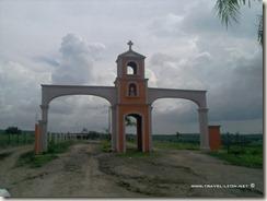 Entrada al Santuario de Teocaltitán de Guadalupe