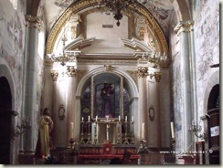 Interior del Santuario de Atotonilco
