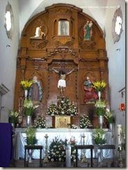 Interior Capilla Hacienda Corralejo