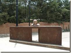 Busto de Hidalgo en Hacienda de Burras, Guanajuato