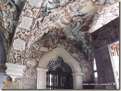 Murales en el Santuario de Atotonilco en Guanajuato