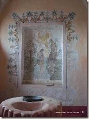Pintura en el Baptisterio