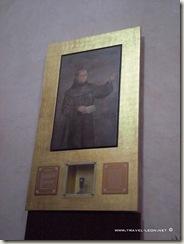 Reliquias de Fray Junípero Serra en Tancoyol