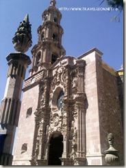 Fachada del Templo del Barrio de Triana