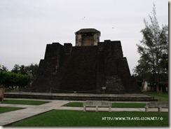 Piramide de Castillo de Teayo en Veracruz