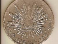 Monedas de México: Los 8 Reales de 1883