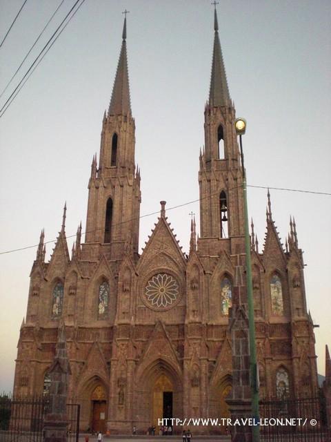 Santuario de Guadalupe en Zamora, Michoacan