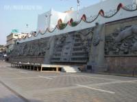 Mural Homenaje a la Cultura Totonaca en Papantla, Veracruz