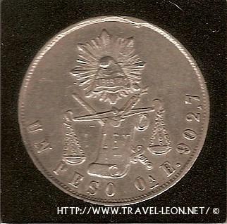 Monedas de México: El Peso Balanza