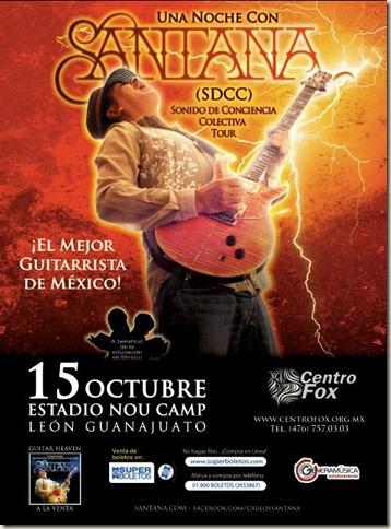 Carlos Santana en León, Guanajuato