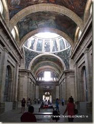 Interior de la Capilla Mayor en Hospicio Cabañas