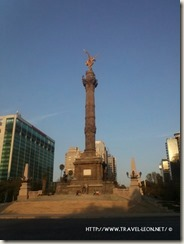 Ángel de la Independencia en el DF